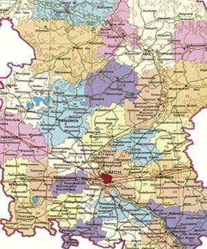 Муниципальные районы Омской области